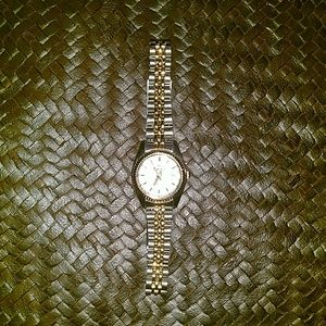 Premier designs gold and silver  Quartz watch